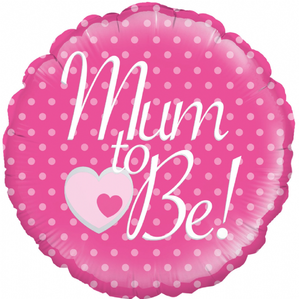 Pink Mum to Be! Foil Balloon